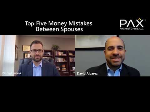 Top 5 Money Mistakes Between Spouses