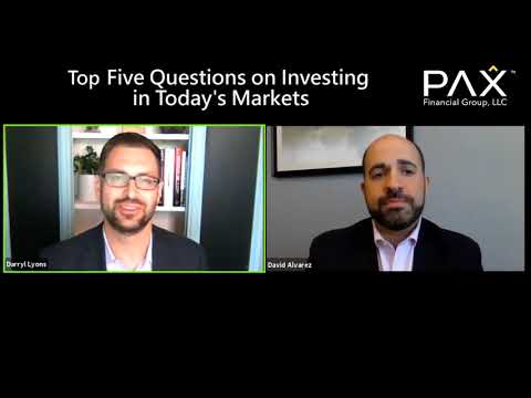 Top 5 Questions on Investing in Today's Markets